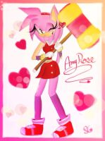 :Sonic Boom: Amy Rose!! by sonamycomic