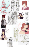 Things I started and never finished by JustSher