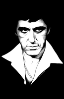 Scarface by GothPunkDaddy