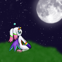 Moons are pretty... by Rika-of-Thunder