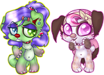 My Chibi Babes by oCrystal