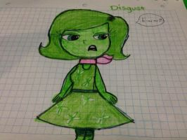 *Request* Disgust from Inside Out! by Danny-The-Rabbit-htf