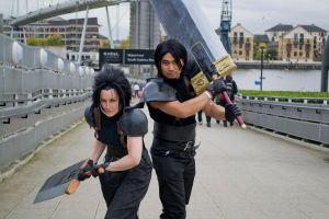 Angeal and Zack: Bustersword Honor by ManticoreEX