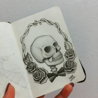 Skull by DanielaLuther