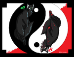 Hollyleaf yin yang by Mintleaf-99