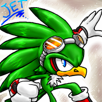 Jet the hawk by Faezza