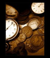 Time is Money - Vintage Style by Forestina-Fotos