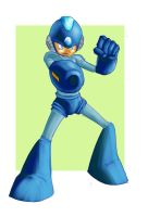 megaman  ready by MIRRORMASTER