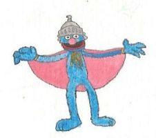 Super Grover by brazilianferalcat