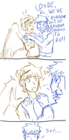Adventures of Ike and Pit- Running Out of Ideas by Prince-Marusu