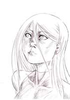 eve taylor realistic sketch by takadox2