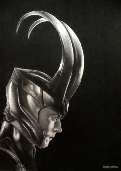 Loki by MOTORCYCLEGIRL