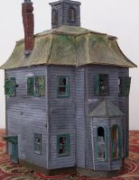 Haunted House in HO scale. by mabreza