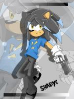 Shadyc The Dark Hedgehog by xLucyStaR