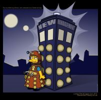 Diddy Dalek: Simpsons Style by dtdstudio