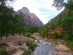 River Through Zion National Park by Trisaw1