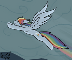Discorded Rainbow Dash, Choices by Moonstruck-badger