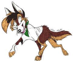 Art Trade-Trot This Way by Stray-Sketches