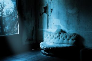 premade background haunted room 1 by H-stock