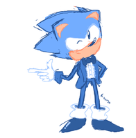 Snazzy Sonic by bulgariansumo