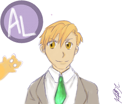 Older Alphonse by thirdboot033101