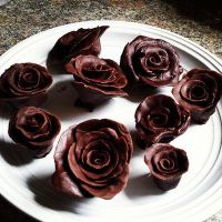 chocolate roses. by sorekara