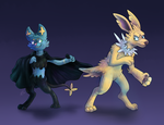 Commission: Liam and Garrit by Srarlight