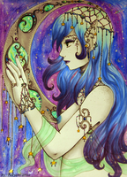 The Moon Goddess by yuuyami-artist