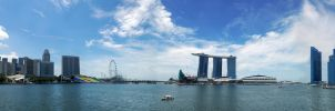 Singapore city wide view by joelee88