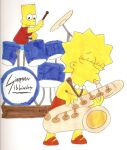 The Simpson Sibling Band by Locke831