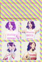 Pack png #21: 4 PNG Sulli by UdsonDollySarah