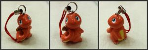 Charmander Charm by Meiyoukat