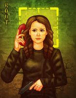 Person of Interest: Our Lady Of The Machine by sqbr