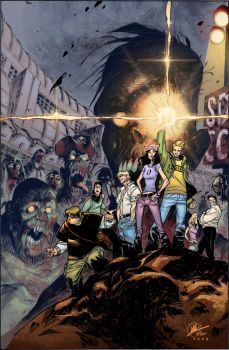 Fanboys Vs Zombies Colors by LTartist