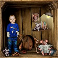Cosy Mice Home by High Four Designs by Altia13