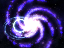 Galactic Collision by Rebecca1208