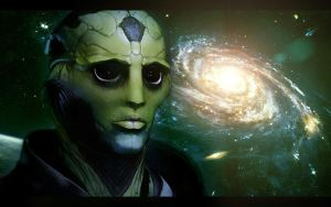 Mass Effect 2 Thane by AgataFoxxx