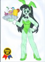 Art Jam: Bunny Girl 2014 by animequeen20012003