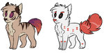 Emergency Adopts! (1/2 Left!) by PartyrockinMouse