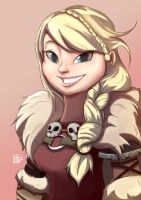 Astrid by LinFongArt