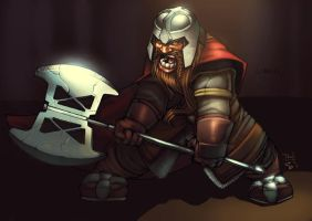 Gimli...colours by Bakanekonei by SuperUndiesMan
