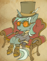 Steampunk Lyra Heartstrings by Siberski