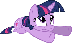 Embarrassed Twilight Sparkle by 90Sigma