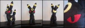 Umbreon Pokemon Plush by Miss-Zeldette