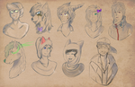 [R] Headshot requests -Batch 2- by MrBoodle