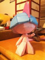 Shiny Ralts Papercraft by Magedark9