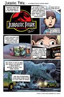 Jurassic Park - Appreciation Comic color by mregina
