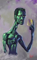 The Machinist by Dhutchison