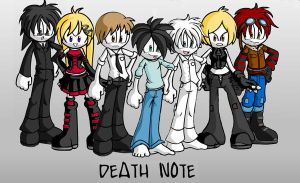 Death note by fallenangels500