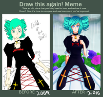 Draw This Again Meme by thelittlestprince